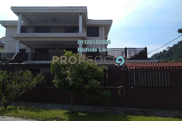 For Sale Bungalow at Taman Connaught, Cheras Freehold Semi Furnished 6R/7B 3.1m