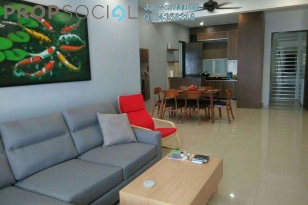 For Sale Condominium at Platinum III, Teluk Kumbar Freehold Fully Furnished 4R/2B 580k