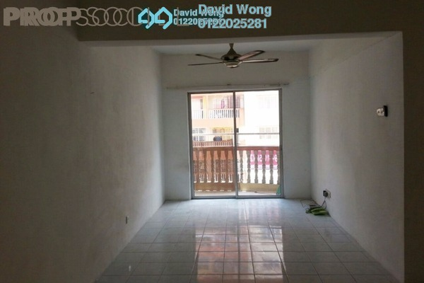 For Rent Apartment at Sri Ria Apartment, Kajang Freehold Semi Furnished 3R/2B 1k
