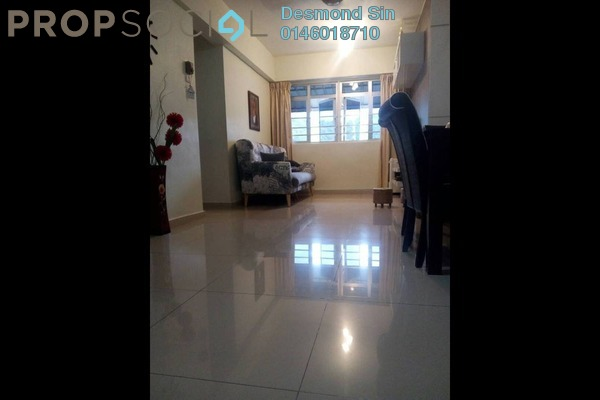 For Sale Apartment at Puncak Terubong, Farlim Freehold Semi Furnished 3R/2B 268k