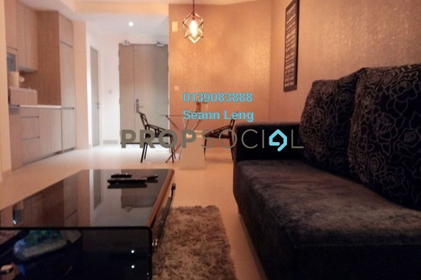 For Rent Condominium at AraGreens Residences, Ara Damansara Freehold Fully Furnished 2R/1B 2.25k