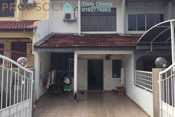 For Rent Terrace at Taman Delima, Cheras Freehold Semi Furnished 3R/2B 1.1k