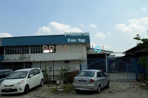 For Rent Factory at Cheras Jaya Industrial Park, Balakong Freehold Unfurnished 0R/4B 16k