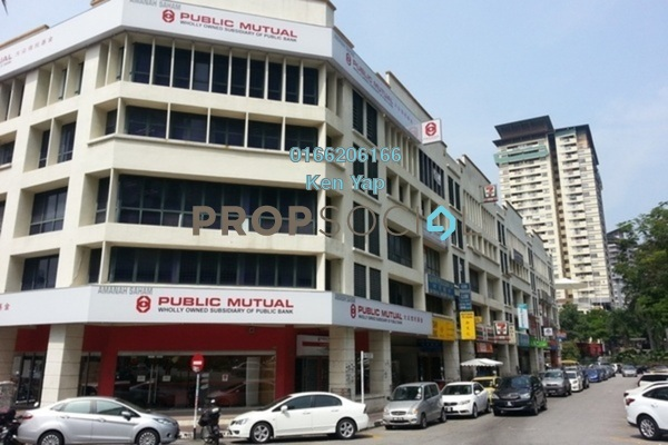 For Sale Office at Perdana Business Centre, Damansara Perdana Freehold Semi Furnished 0R/2B 528k