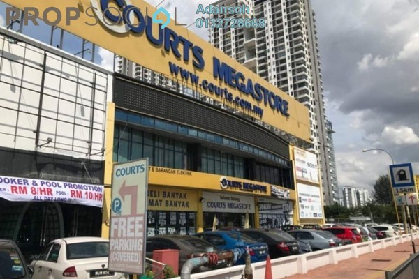 For Rent Factory at The Edge Residen, Subang Jaya Freehold Unfurnished 0R/9B 150.0千