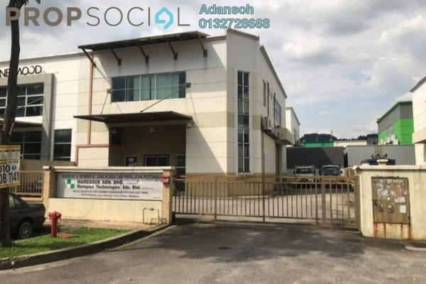 For Rent Factory at Sunway Damansara Technology Park, Sunway Damansara Freehold Semi Furnished 0R/4B 11k