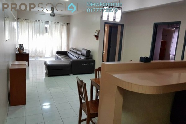 For Rent Apartment at Selasih Apartment, Damansara Damai Freehold Fully Furnished 3R/2B 1.2k