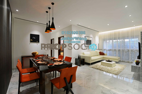 For Sale Condominium at Pinnacle, Sri Petaling Freehold Unfurnished 2R/2B 503k