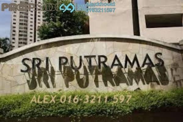 For Sale Condominium at Sri Putramas I, Dutamas Freehold Semi Furnished 3R/2B 480k
