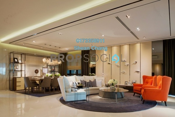 For Sale Condominium at Residensi 22, Mont Kiara Freehold Semi Furnished 4R/5B 2.4m