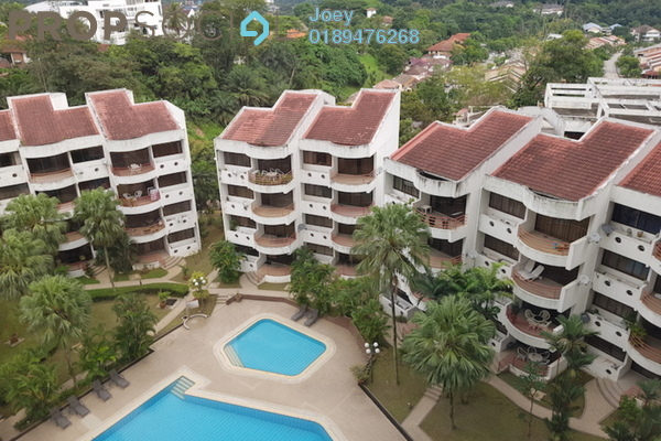 For Rent Condominium at Jamnah View, Damansara Heights Freehold Fully Furnished 1R/1B 2.5k