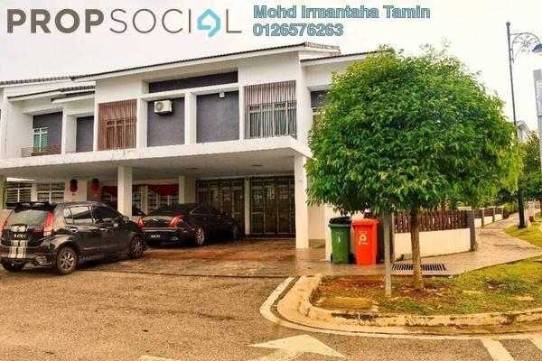 For Sale Terrace at Precinct 11, Putrajaya Freehold Semi Furnished 5R/6B 1.7m