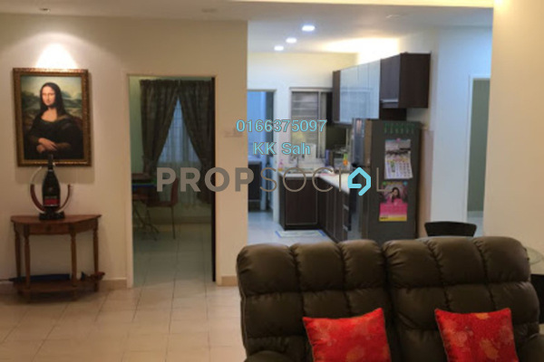 For Sale Condominium at Cahaya Villa, Seri Kembangan Freehold Fully Furnished 3R/2B 380k