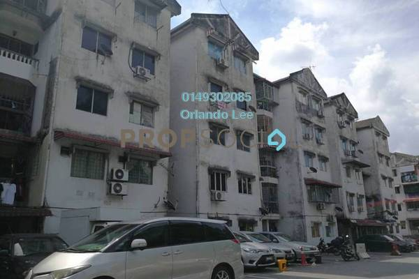 For Rent Apartment at Taman Indah Perdana, Kepong Freehold Unfurnished 3R/2B 750translationmissing:en.pricing.unit
