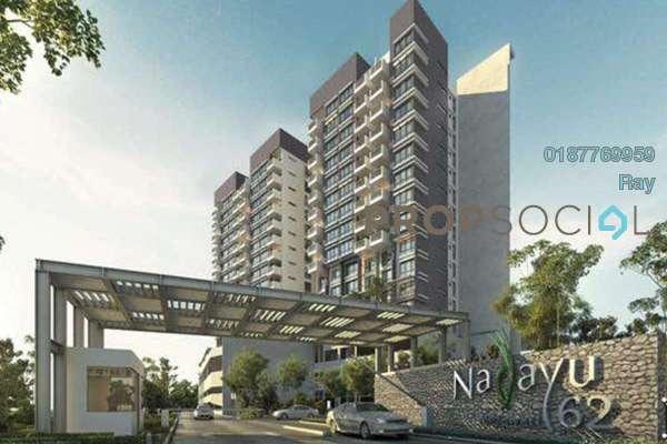 For Sale Condominium at Nadayu62, Melawati Freehold Semi Furnished 3R/2B 660k