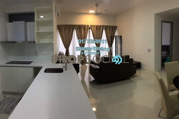 For Rent Condominium at Reflection Residences, Mutiara Damansara Freehold Fully Furnished 3R/2B 4k