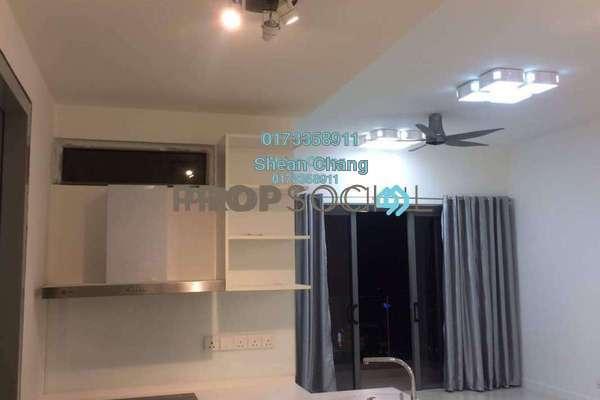 For Rent Condominium at Reflection Residences, Mutiara Damansara Freehold Semi Furnished 3R/2B 3.5k