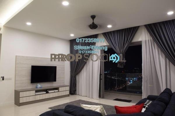 For Rent Condominium at Reflection Residences, Mutiara Damansara Freehold Fully Furnished 3R/3B 5k