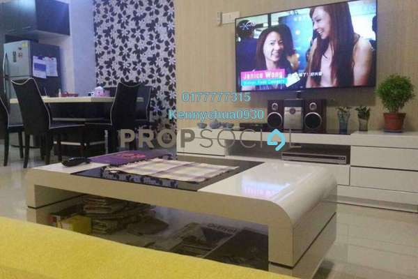 For Sale Condominium at D'Ambience, Johor Bahru Freehold Fully Furnished 2R/2B 390k