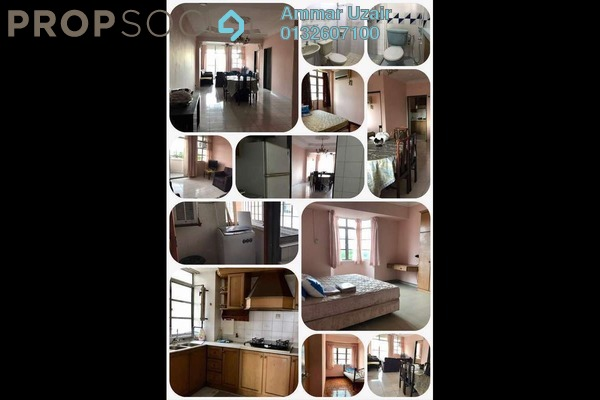 For Rent Condominium at Casa Ria, Cheras Freehold Fully Furnished 3R/2B 1.8k
