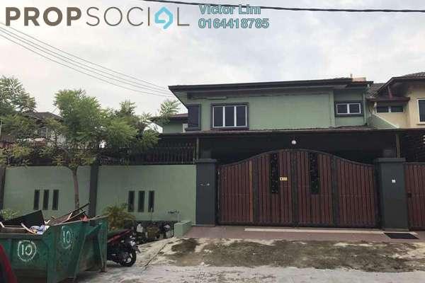 For Sale Terrace at BK4, Bandar Kinrara Freehold Semi Furnished 5R/3B 1000k
