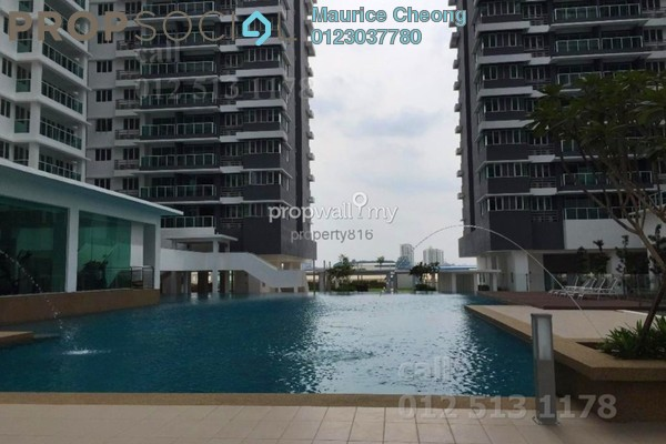 For Sale Condominium at USJ One Park, UEP Subang Jaya Leasehold Fully Furnished 3R/3B 580k
