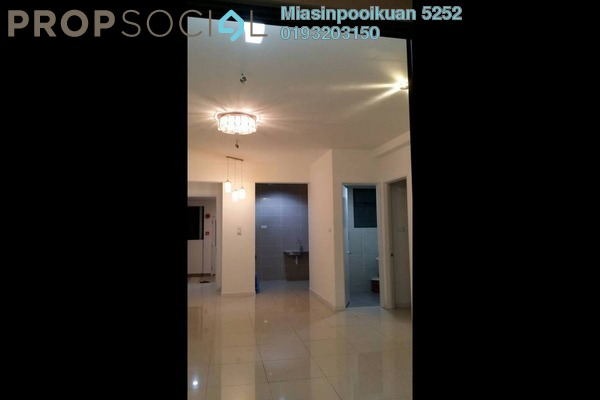 For Rent Serviced Residence at Fortune Perdana Lakeside, Kepong Freehold Semi Furnished 3R/2B 1.4k