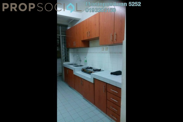 For Rent Apartment at Taman Abadi Indah, Taman Desa Freehold Semi Furnished 3R/2B 1.3k