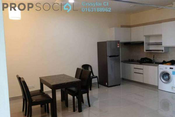 For Rent Condominium at Cube @ One South, Seri Kembangan Freehold Fully Furnished 1R/1B 1.4k