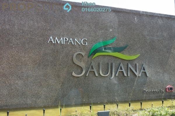 For Sale Condominium at Ampang Saujana, Ampang Freehold Semi Furnished 4R/3B 788k