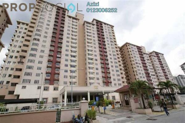 For Sale Condominium at Kelana Puteri, Kelana Jaya Leasehold Semi Furnished 3R/2B 382k