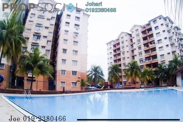 For Sale Condominium at Elaeis 2, Bukit Jelutong Freehold Semi Furnished 3R/2B 420k