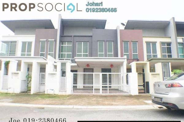 For Sale Terrace at Paloma, Bandar Bukit Raja Freehold Semi Furnished 4R/3B 860k