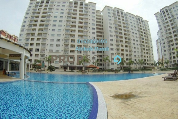For Sale Condominium at SuriaMas, Bandar Sunway Freehold Semi Furnished 4R/2B 530k