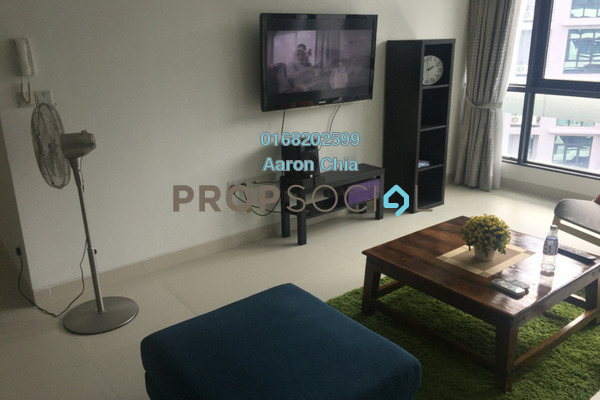 For Rent Serviced Residence at AraGreens Residences, Ara Damansara Freehold Fully Furnished 3R/3B 3.5k