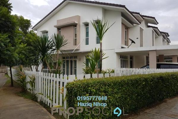For Sale Terrace at Precinct 11, Putrajaya Freehold Fully Furnished 4R/4B 1.15m