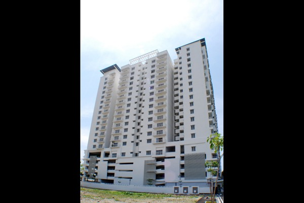 For Rent Condominium at Park View Tower, Butterworth Freehold Semi Furnished 3R/2B 1.2k
