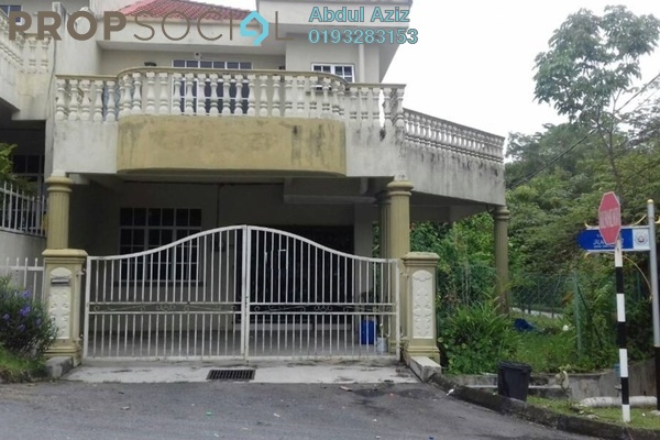 For Sale Terrace at Gemilang Avenue, Tanjung Malim Freehold Semi Furnished 4R/3B 390k