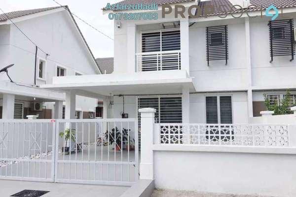 For Sale Terrace at Nusa Suria, Puncak Alam Freehold Semi Furnished 4R/3B 500k