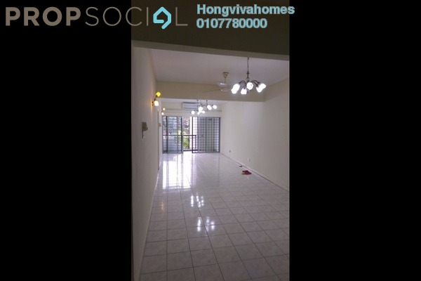 For Rent Condominium at Anjung Villa, Sentul Freehold Semi Furnished 3R/2B 1.7k