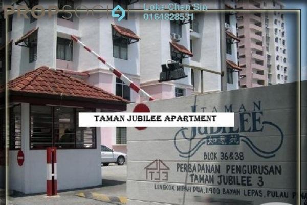 For Rent Condominium at Taman Jubilee, Sungai Nibong Freehold Semi Furnished 3R/2B 1k