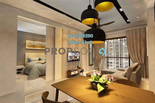 For Rent Condominium at BayBerry Serviced Residence @ Tropicana Gardens, Kota Damansara Freehold Fully Furnished 1R/1B 2.79k