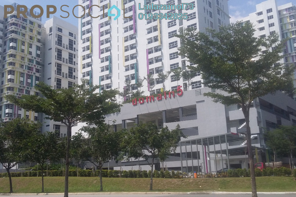 For Rent Apartment at The Domain, Cyberjaya Freehold Semi Furnished 1R/1B 1.6k