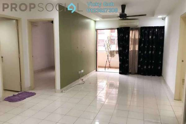 For Rent Serviced Residence at Palm Spring, Kota Damansara Freehold Semi Furnished 3R/2B 1.4k