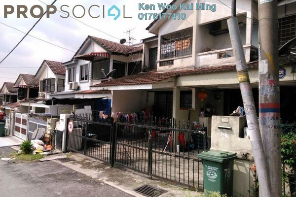 For Sale Terrace at Taman Segar, Cheras Freehold Semi Furnished 5R/3B 1.2m