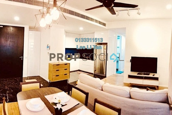 For Rent Condominium at Arcoris, Mont Kiara Freehold Fully Furnished 2R/2B 4k