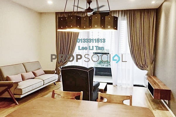 For Rent Condominium at Arcoris, Mont Kiara Freehold Fully Furnished 2R/2B 4.8k