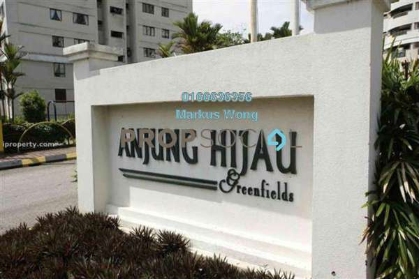 For Sale Apartment at Anjung Hijau, Bukit Jalil Freehold Semi Furnished 2R/2B 500k