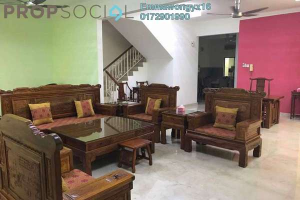 For Sale Semi-Detached at Taman Tasik Indah Mewah, Jalan Ipoh Freehold Semi Furnished 6R/6B 2.88m