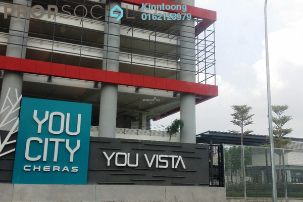 For Sale Condominium at You Vista @ You City, Batu 9 Cheras Freehold Unfurnished 2R/2B 500k